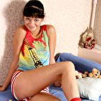 First pic of Little Danni - hot petite brunette teen