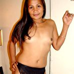 First pic of cute and sexy amateur Asian granny from the Philippines shows her old asshole