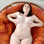 Third pic of Hairy Cerah spreads her milky thighs : WeAreHairy.com