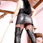 Fourth pic of OWK - Tatjana Cruela educates her slaves