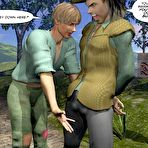 Third pic of Gay fairy tales and fabulous 3D gay comics about hot porn adventures of young twink Jack