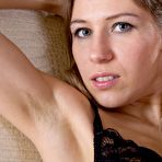 Second pic of Hairy girl Loredana is playing with a black dildo : WeAreHairy.com