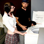First pic of Laundry Handjob With Dakota at Teen Tugs