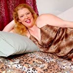 Fourth pic of Chubby Loving - Redhead Mature Fatty Spreads Big Pussy
