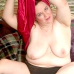 First pic of Chubby Loving - Fat Mature Spreading And Toying