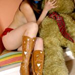 Third pic of Hikari - Hot Asian cowgirl is sexy in her boots