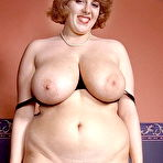 Second pic of Chubby Loving - Busty Fat Mature In Stockings