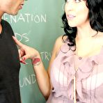 Second pic of Voluptuous Raven-Haired Woman Screwing In Class photos (Lacie James) / MILF Fox