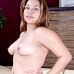 Third pic of Voluptuous Daisy Leon shows off her hairy pussy : WeAreHairy.com