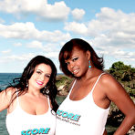 Second pic of Scoreland.com - Arianna Sinn and Miosotis - Arianna & Miosotis Behind The Scenes