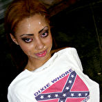 Fourth pic of Cum Bang.com! - Ebony Beauties and Redneck White-Boys - Bukkake Style!
