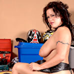 Fourth pic of Scoreland.com - Slone Ryder - Bad Ass Motorcycle Mama