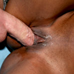 Fourth pic of GloryHole Initiations! - Black Girls Sucking Their First White Cock!