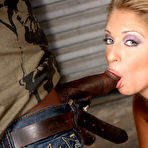 Second pic of Jaelyn Fox Gangbang GangFucked By Big Black Cocks at Blacks On Blondes!