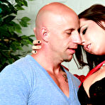 First pic of Brandy Aniston makes him shoot a fresh load all over her titties