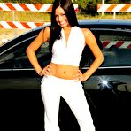 First pic of Cierra Spice on the Side of the Road :: Sweet T and A