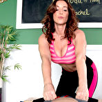 Second pic of MILFTugs.com - Rachel Steele - Rachel Tugs, Blows And Uses Her Feet, Too. (pg tour/)