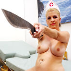 First pic of Joclyn Stone the Ballbusting MILF Nurse