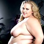 Second pic of PlumpersAndBW.com - Download FAT slut CHRISTINA CURVES' photo set!