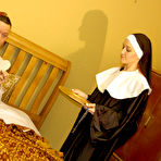 First pic of Anal Nuns Smokie Flame and Lyla Storm in The Unholy Trinity