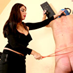First pic of OWK - Mistress Roberta testing her new slave