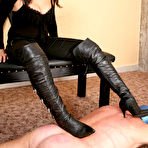 Third pic of OWK - Mistress Roberta testing her new slave