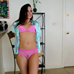 Second pic of Wife AmberLily's See-Through Pink Panties