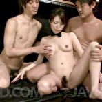 Fourth pic of Watch porn pictures from video Group of horny guys enjoy everything Rino Asuka's body gives them - JavHD.com