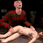 Fourth pic of Freddy Krueger's sex attack: 3D porn horror story