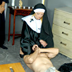 Fourth pic of Dominatrix Nun Sophie Dee in The Handjob Cleansing