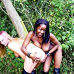 First pic of Interracial Lesbians In Public
