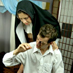 Third pic of Sex Nun Vanessa Naughty in Beyond Forgiveness