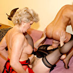 Second pic of 3 Mature lesbians getting really naughty and kinky