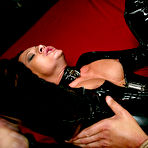 Fourth pic of free image gallery from Men in Pain - Sandra Romain dominates slave boy