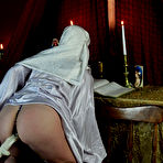 First pic of Teen nun drilled by Fuck Machine