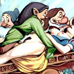 Fourth pic of Lovely Snow White with perfect ass getting jumped on \\ Cartoon Porn \\