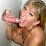 Third pic of Mature Wife Dawn Gets Pussy and Ass Banged in the Gloryhole