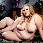 Third pic of PlumpersAndBW.com - Download FAT slut CHRISTINA CURVES' photo set!