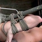 Third pic of Sexually Broken | Inescapable Bondage, Brutal Bondage Sex, Devestating Orgasms | Hot Blond Cherry Torn Gets Destroyed
