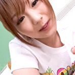 Second pic of Watch porn pictures from video Miku Airi Asian in t-shirt sucks and licks cock till gets sperm - JavHD.com