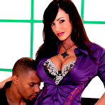 First pic of porn star Lisa Ann gets drilled by a massive black cock!
