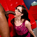 Second pic of Lily Carter Black Cock Slut at Blacks On Blondes!