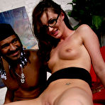 Fourth pic of Lily Carter Black Cock Slut at Blacks On Blondes!