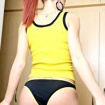Second pic of Playful Alice - Skinny Teen Redhead Posing