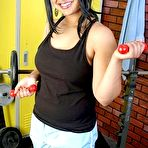 First pic of Chubby Loving - Young Plumper Teasing In Gym