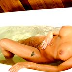 Third pic of Lanny Barbie - having fun in a hot tub