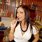 First pic of Realitykings / Milfhunter.com Maribel In Smoking Pole Pics