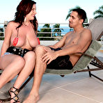First pic of Scoreland.com - Lana Ivans - Poolside Pipejob
