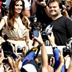 Fourth pic of Angelina Jolie posing at Kung Fu Panda 2 photocall in Cannes