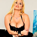 First pic of Shyla Stylez rides his black cock like a raging nympho